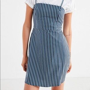 Urban Outfitters Blue Striped Dress